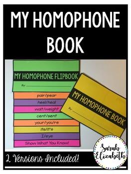 Homophones Book