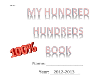 My Hundred Hundred's Book (Pink Words)