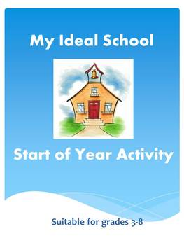 My Ideal School Introductory Activity Lesson Plan