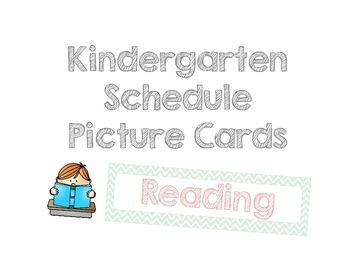 My Kindergarten Picture Schedule