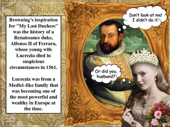 My Last Duchess by Robert Browning