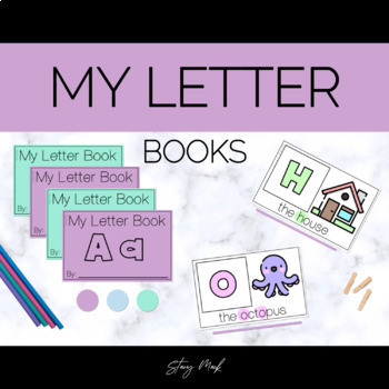My Letter Books Aa-Ee - Easy Readers