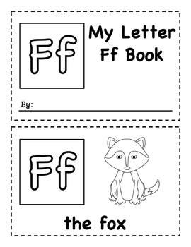 My Letter Books Ff-Jj - Easy Readers