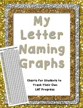 My Letter Naming Fluency Graph DIBELS Self Assessment Trac