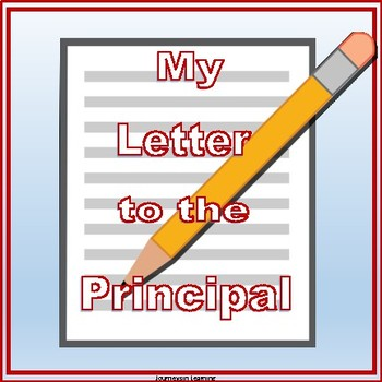 My Letter to the Principal
