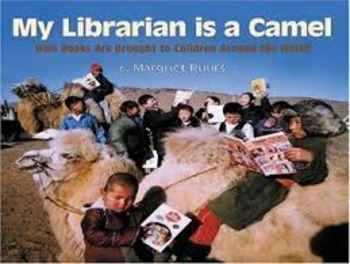 My Librarian Is a Camel by Margriet Ruurs PowerPoint and P