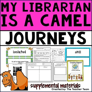 My Librarian is a Camel Journeys Fourth Grade Supplemental