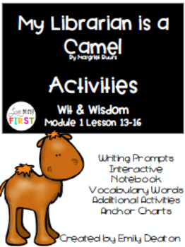 My Librarian is a Camel and Wisdom Grade 1 Bundle