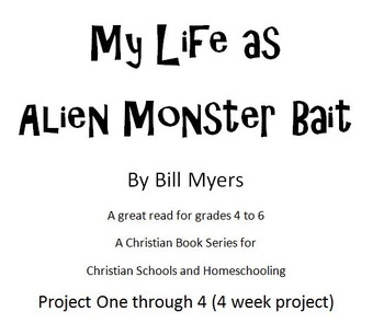 My Life as Alien Monster Bait  - Reading questions and sim