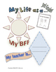 My Life as a Third Grader Student Journal (Free Sample Pages)