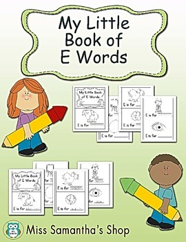 My Little Book of E Words