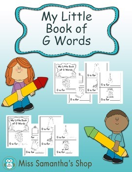 My Little Book of G Words