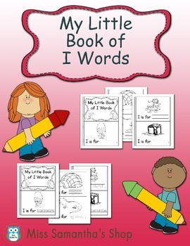My Little Book of I Words