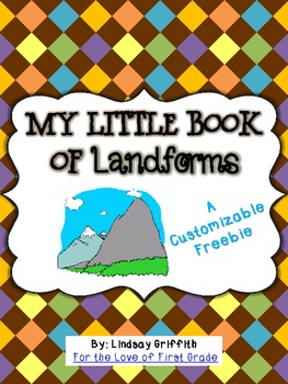 My Little Book of Landforms