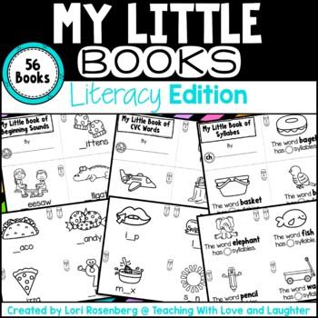 My Little Books {Literacy Edition}