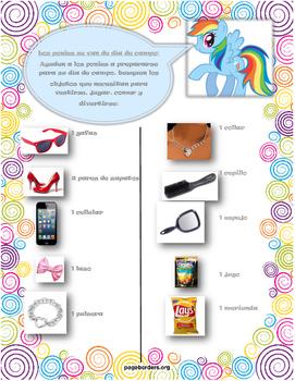 My Little Pony scavenger hunt (espanol)