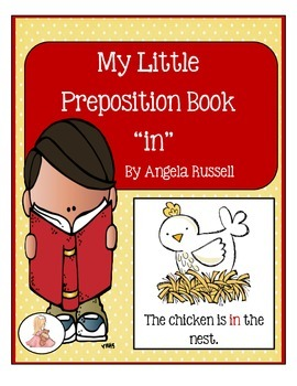 "My Little Preposition Book For The Word ""In"""