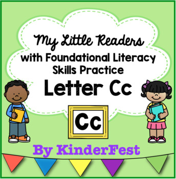 My Little Readers - Interactive Books - Letter Cc