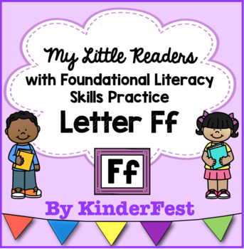 My Little Readers - Interactive Books - Letter Ff