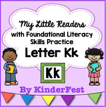 My Little Readers - Interactive Books - Letter Kk