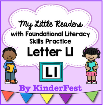 My Little Readers - Interactive Books - Letter Ll