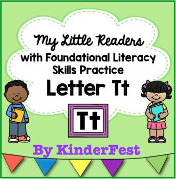 My Little Readers - Interactive Books - Letter Tt