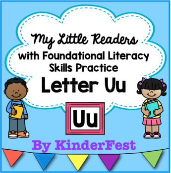 My Little Readers - Interactive Books - Letter Uu