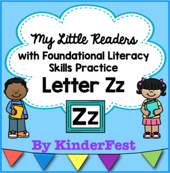 My Little Readers - Interactive Books - Letter Zz