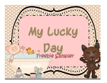 My Lucky Day Fox and Pig Free Sample - Reading Street