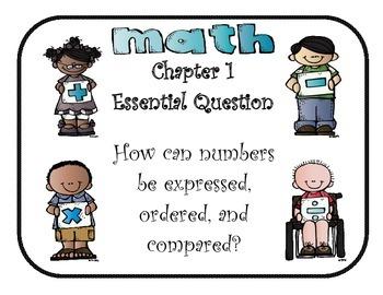 Mc Graw-Hill My Math! Grade 3 Essential Questions