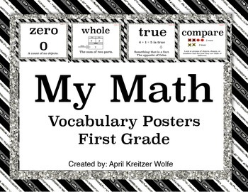 My Math Vocabulary Posters