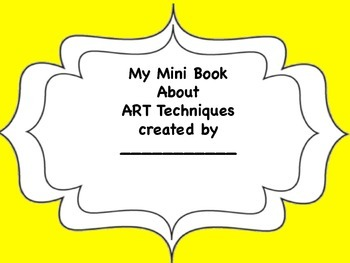 My Mini Book of Art Techniques