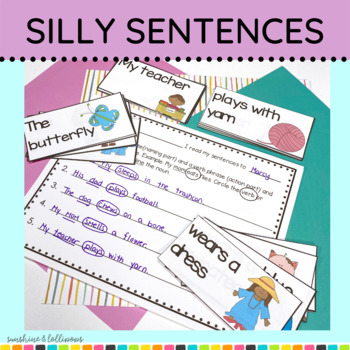 Word Work: My Mom Eats Flies… Making Silly Sentences for K-1