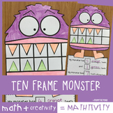 My Monster's {Ten Frame Addition} Teeth Mathtivity