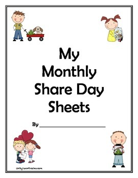 My Monthly Share Day Sheets