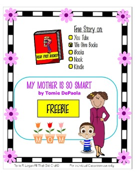 FREEBIE  My Mother is So Smart -  Mother's Day