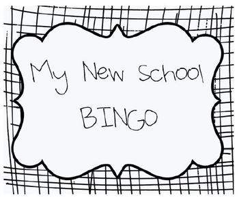 My New Class BINGO - A Transition Activity for Autism and