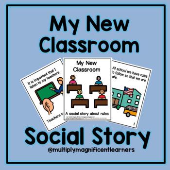 My New Classroom- A Social Story