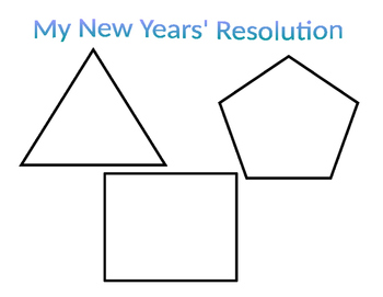 My New Year's Resolution Poster