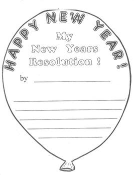 My New Years Resolution!