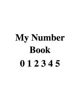My Number Book 0-5