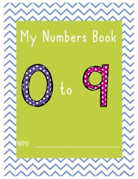 My Numbers Book - 0 to 9