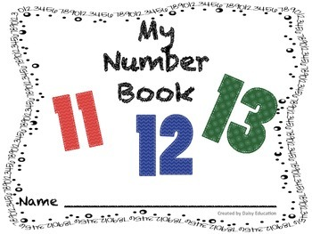 My Numbers Book 11-20