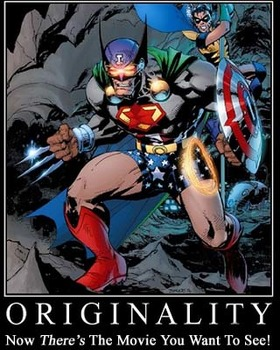 My Original Superhero Creation
