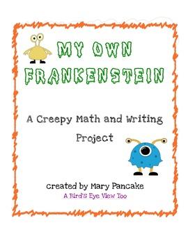 Halloween Math and  Writing- My Own Frankenstein