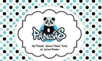 My PANDAS Organizational Binder