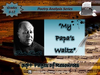 My Papa's Waltz by Theodore Roethke Poem Analysis