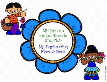My Parts of a Flower Book/Mi libro de las partes de una flor