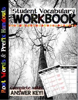 Prefix Student Workbook Vol. 1 (Root Words)