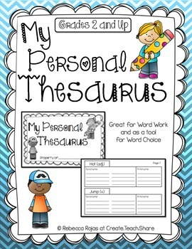 My Personal Thesaurus